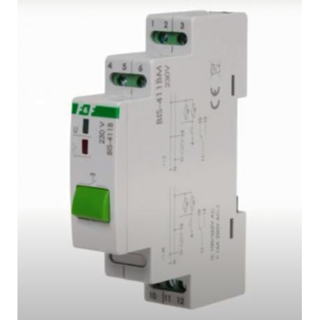 Wideoporadnik - Przekaźniki bistabilne z przyciskiem sterującym na obudowie