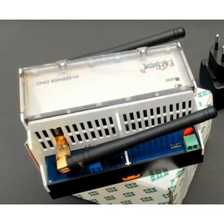 Wideoporadnik - F&Home Radio. Prezentacja jednostki centralnej w wersji do montażu na szynie DIN