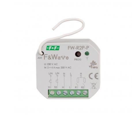 Przekaźnik dwukanałowy wielofunkcyjny dopuszkowy FW-R2P-P