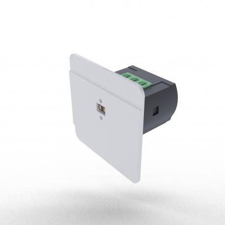Laserowy czujnik schodowy DRL-12 z czujnikiem jasności; kolor czarny antracyt