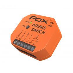 DOUBLE SWITCH dwukanałowy przekaźnik WiFi 230 V