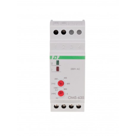 Ogranicznik poboru mocy z automatem schodowym OMS-635 230 V