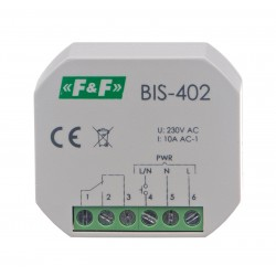 Electronic bistable impulse relay BIS-402