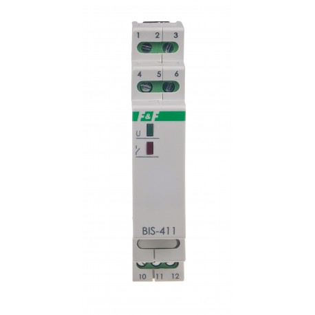Electronic bistable impulse relay BIS-411 24 V