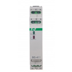 Electronic bistable impulse relay BIS-411-LED