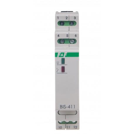 Przekaźnik bistabilny BIS-411-LED 230V współpracuje ze świetlówkami LED
