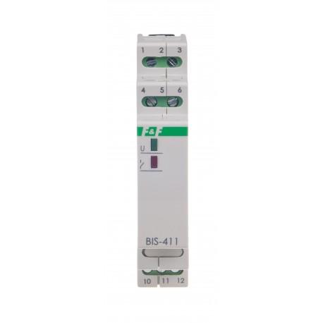 Przekaźnik bistabilny BIS-411-LED- 24V współpracuje z odbiornikami o dużym prądzie startowym