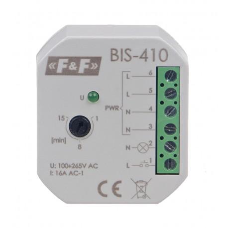Przekaźnik bistabilny z wyłącznikiem czasowym BIS-410 230 V