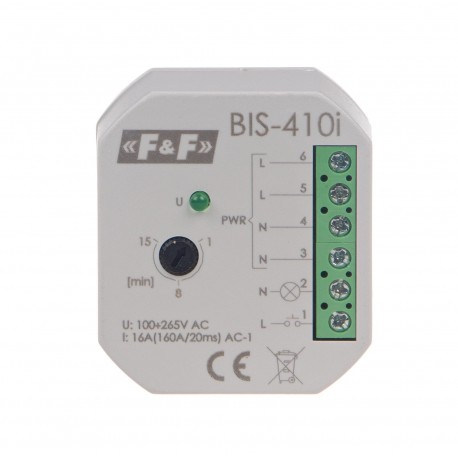Electronic bistable impulse relay BIS-410i