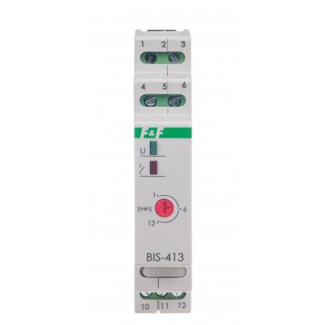 Przekaźnik bistabilny BIS-413 230 V z wyłącznikiem czasowym