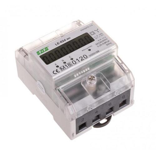 Trójfazowy, inteligentny licznik energii elektrycznej