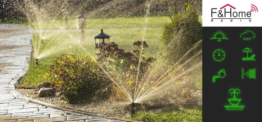 System sterowania radiowego to ogromne ułatwienie w automatycznym nawadnianiu ogrodu.