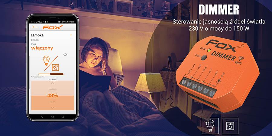 System sterowania przez Wi-Fi - Dimmer ściemniacz oświetlenia