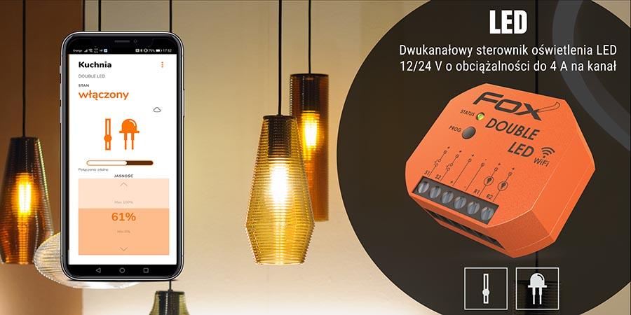 System sterowania przez Wi-Fi - moduł LED