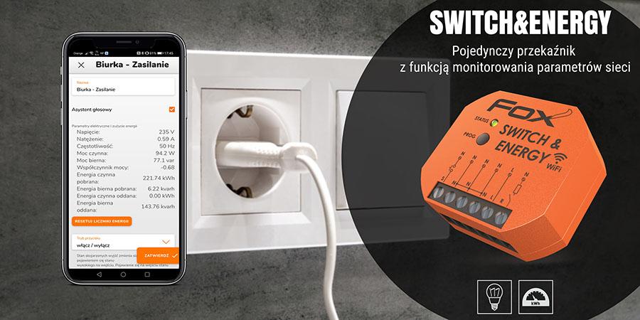 System sterowania przez Wi-Fi - moduł Switch&Energy