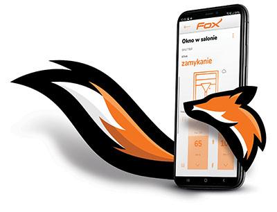 FOX - system sterowania Wi-Fi - aplikacja mobilna