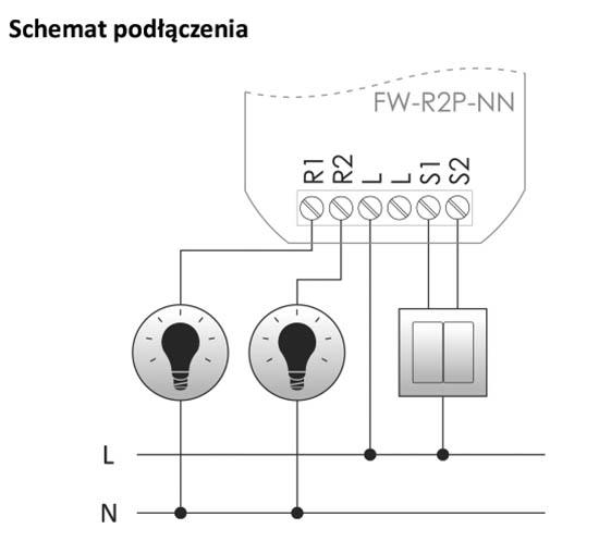 Przekaźnik radiowy do tradycyjnej instalacji elektrycznej