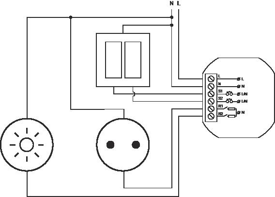 Proxi Power schemat
