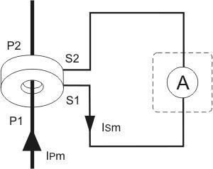 przekładnik prądowy schemat