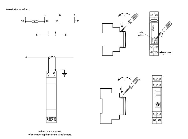 current transducer mb-1i-1 5a - f u0026f