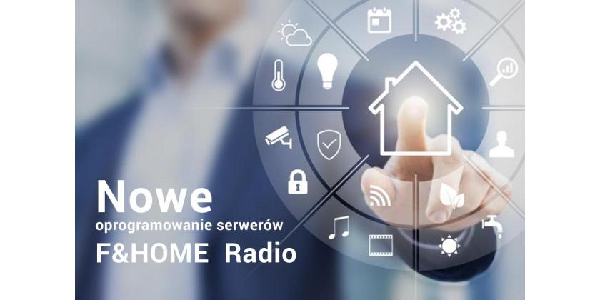 New F&HOME Radio software